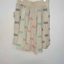 30%OFF!masterkey リネン刺繍スカート