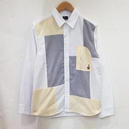 go slow caravan ゴースローキャラバン  オックス切り替えシャツ(メンズ、レディース)