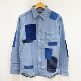 6.5oz デニムリペアRGシャツ(メンズ)