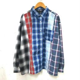5カットチェック オーバーシャツ(メンズ)