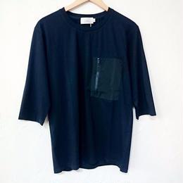 LiSS リス ポケッタブル 7分袖TEE (ユニセックス)