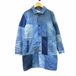MATOU REMAKE USED DENIM パッチワークコート