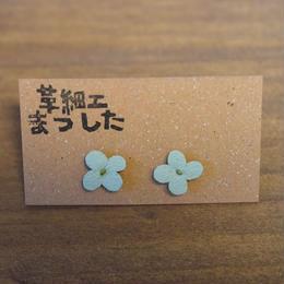 ピアス/イヤリング 花 緑