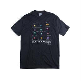 San Francisco souvenir tshirts (Black)