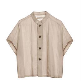 【 Little Creative Factory 18SS 】Ballet Button Shirt / MAUVE