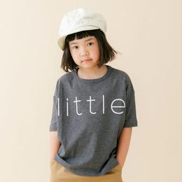 【 nunu forme 18SS 】 リトル Tシャツ(〜145cm)/ Top Charcoal