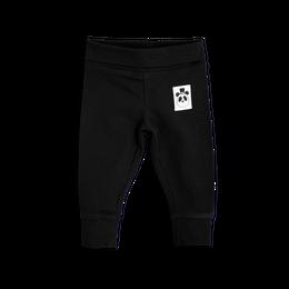 【 mini rodini 2017AW】BASIC NB LEGGINGS / 62cm / Black