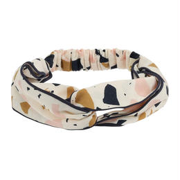 【 Soft Gallery 2018SS 】Wrap Hairband/ 310. Dew, AOP Fresco