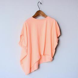【 nunu forme 18SS 】 ライトロング変型 T / Pink Beige / Ladies