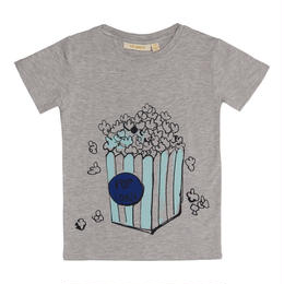 【 Soft Gallery 2018SS 】Bass T-shirt / 011. Grey Melange, Popboy