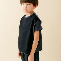 【 nunu forme 18SS 】 ネイティブT(〜145cm)/ Black