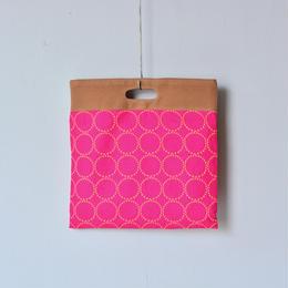 """【 ミナペルホネン 18SS 】 """" tambourine """" フラッグバッグ 大 / pink  (WS9176)"""