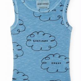 【 Bobo Choses 2018SS 】118156 Clouds tank top