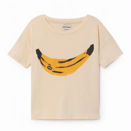【 Bobo Choses 2018SS 】118001 Banana shortsleeve t-shirt