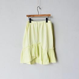 【 folk made 2018SS】No.16 tulle skirt / アイボリー