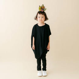 【 nunu forme 18SS 】 ライトロング変型 T(〜145cm)/ Top Charcoal