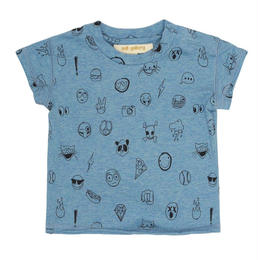 【 Soft Gallery 2018SS 】Baby Ashton T-shirt/ 290. Babyblue Melange
