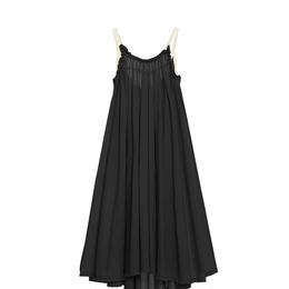 【 Little Creative Factory 18SS 】Ballet Sun Dress / BLACK