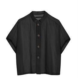 【 Little Creative Factory 18SS 】Ballet Button Shirt / BLACK