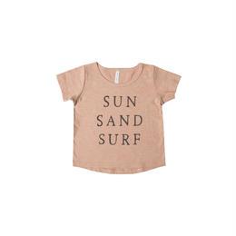 【 Rylee & Cru2018SS 】Tシャツ / sun sand surf