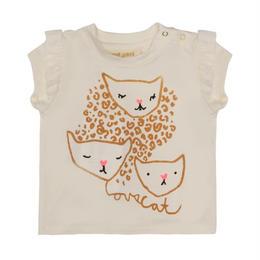 【 Soft Gallery 2018SS 】Sif T-shirt / 079. Gardenia, Wildcat