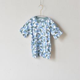 """【 ミナペルホネン 18SS 】 """"enfants terribles """" Tシャツ / blue  / 80〜100cm   (WS8870P)"""