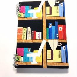 ノート(リーブル) スケジュール付き【本棚と珈琲】