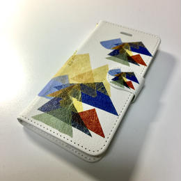 iphone  7   手帖型ケース【山】