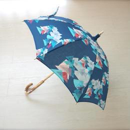 日傘(手元:白木)レ・モンターニュ【山】