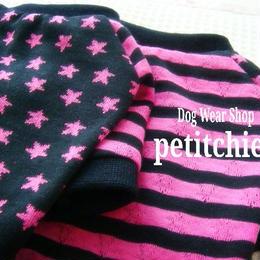 犬服 【U★S★A】Tシャツ 胴回り30~38cm★ピンク