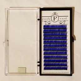 シングルカラーラッシュ《ブルー》Dカール0.15mm 9~15mm