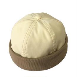 RIB CAP BEIGE