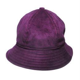 6P HAT   CORDUROY  BURGUNDY