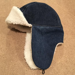 BOMBER CAP  USED FABRIC ONE OFF 02
