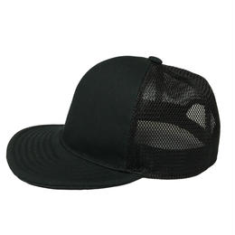 SNAP BACK MESH CAP BLACK