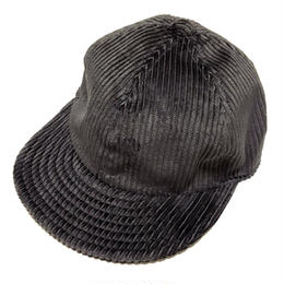【在庫あり】LOW STRAP CAP  FAT CORDUROY CHACOAL GRAY SizeM