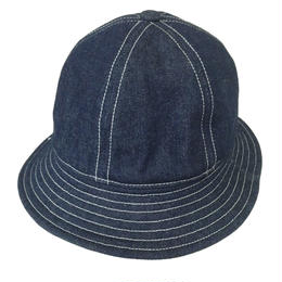 6P HAT  INDIGO DENIM