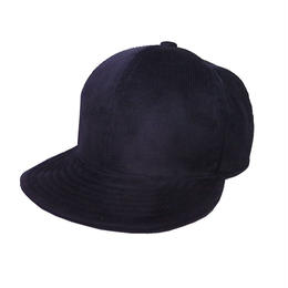 SNAP BACK CAP CORDUROY BLACK