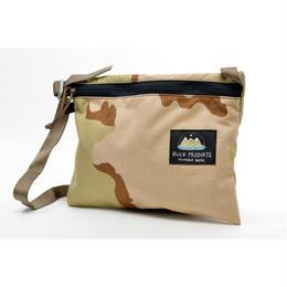 BUCK PRODUCTS Classic Musettes Bag Desert Como バックプロダクツ クラシック ミュゼットバッグ サッコシュ デザートカモ アウトドア ショルダーバッグ