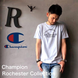 "Champion Rochester Collection ""PRINT T-SHIRT"" LG.Blue"