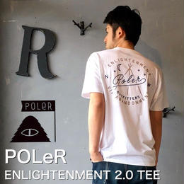 "POLeR ""ENLIGHTENMENT 2.0 TEE"" White"