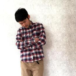 """+R """"日本生地使用チェックネルシャツ"""" 26"""