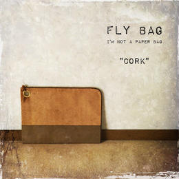 "FLY BAG CLUTCH #2 ""CORK"""