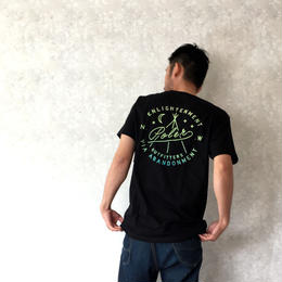"POLeR ""ENLIGHTENMENT POCKET TEE"" Black"