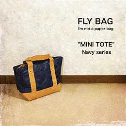 "FLY BAG ""MINI TOTE"" Navy"