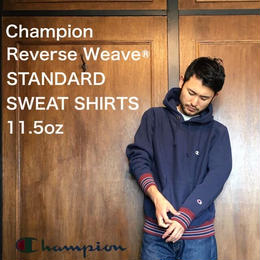 "Champion ""REVERSE WEAVE® PULLOVER HOODED SWEAT SHIRTS"" D.Navy"