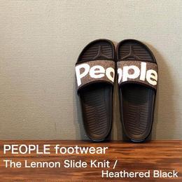 "PEOPLE footwear ""THE LENNON SLIDE KNIT"" Heathered Black"