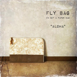 "FLY BAG CLUTCH #2 ""ALOHA"""