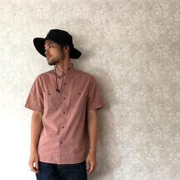 "POLeR ""WASHED UP S/S WOVEN"" Dusty Pink"