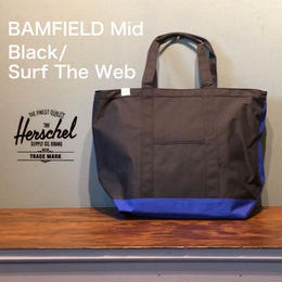 "Herschel ""BAMFIELD Mid"" Black/Surf The Web"